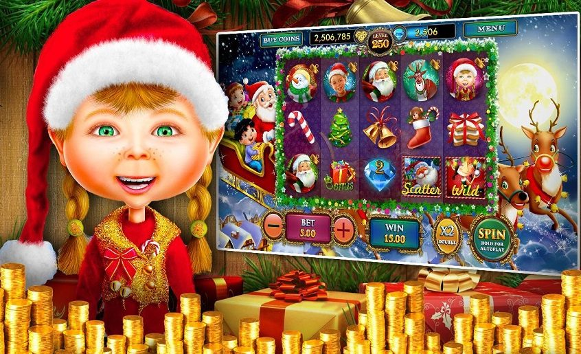 What are the best Christmas pokies?